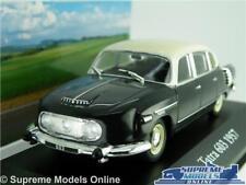 TATRA 603 CAR MODEL 1:43 SIZE 1957 IXO ATLAS BLACK/CREAM VOITURES MYTHIQUES T3
