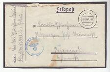 [50759] 1941 German Postal Cover