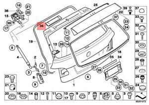 Genuine BMW 5 SERIES E61 E61 LCI Antenna amplifier Diversity COVER 7114889
