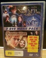 Nanny McPhee  / Peter Pan (DVD, 2007, 2-Disc Set) Free Shipping