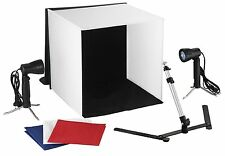Portable photo studio lighting cube soft box tent photography backdrop kit