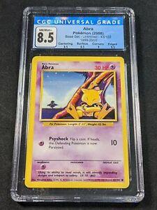 Pokemon TCG - CGC 8.5 - Abra - 4th Print Base Set 43/102