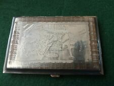 WW2 Trench Art Indian Cigarette Case .