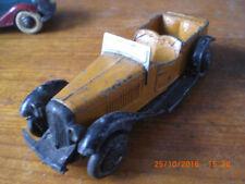 Dinky Pre war sports tourer 24h with spare wheel on back all original rare
