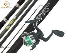 1Oft FISHING ROD & REEL WITH LINE BEGINNERS STARTERS FISHING SET KIT HUNTER PRO®