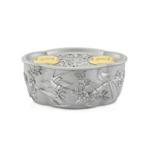 Royal Selangor Straits Expression Collection Pewter Magpie Container Gift
