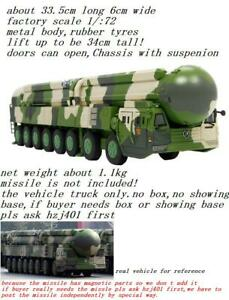 1/72? 1/60? DongFeng 41 CSS-X-10 Intercontinental Ballistic Missile truck no box
