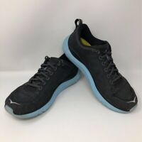 Hoka One One Womens Hupana 2 Sneakers Black 1019573 Low Top Lace Up Shoes 9.5 M