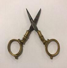 Antique German Reverse Handled Scissors