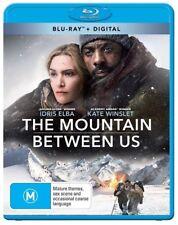 The Mountain Between Us (Blu-ray, 2018) Ex rental