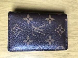 Louis Vuitton POCKET ORGANIZER Monogram 3.1 x 4.3 x 0.4 inches M60502