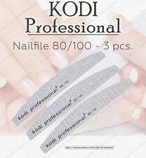 NEW Kodi professional Nailfile Half grey 80/100 For artificial nail