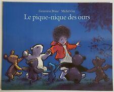 French Book - Le Pique-Nique des ours
