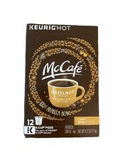 McCafé Hazelnut Coffee, Arabica Coffee, K-Cup Pods, 12 Count