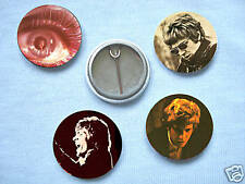 Scott Walker-Set Of Four Badges Jacques Brel Walker Bothers David Bowie
