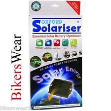 Oxford Solariser Esencial Coche Moto Optimizador Cargador Batería Solar OF949