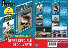Lot 2 DVD Pêche des carnassiers n°2 : La traque des gros sandres & brochets