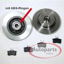 Peugeot 207 - Bremsscheiben Bremsen ABS Ringe Radlager Bremsbeläge für hinten