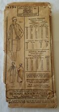 1925 Pictorial Review Pattern Womens & Misses Coat #4184 Bust Years 16 Flapper