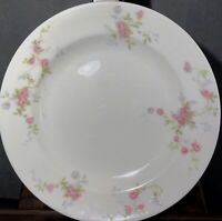 "Lot Of 6 Theodore Haviland New York Touraine Salad Plates 8"" Pink Flowers"