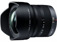 Panasonic Lumix G Vario 7-14mm F4.0 ASPH Lens  Japan Domestic Version New