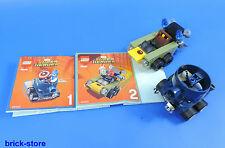 Lego Mighty micros C.américa vs Cráneo