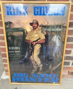 "Rare VTG Kirk Gibson LA Dodgers Costacos Brothers 24 x 36"" Poster Vintage 80s"