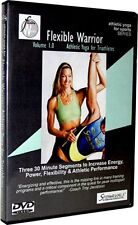 Spinervals Flexible Warrior 1.0 Althetic Yoga Triathletes Training DVD Workout