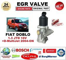 Para Fiat Doblo 1.3 JTD 16 V + D Multijet 2004-ON 2-PIN Válvula EGR enchufe en forma de D