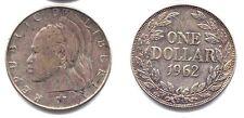 LIBERIA . UN DOLLAR 1962 .