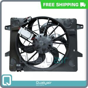 AC Radiator-Condenser Fan fits Ford Crown Victoria / Lincoln Town Car / Me... QU