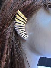 Women Silver Metal Angel Wing Ear Cuff Earring Chic Stylish Trendy Fashion Sexy
