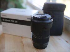 Sigma DC 18-35mm f/1.8 AF HSM DC Lens For Canon