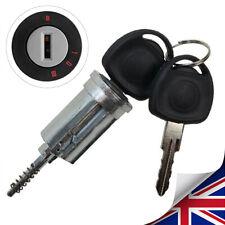 Ignition Barrel +2 Key For VAUXHALL Astra Corsa Zafira Meriva Tigra Combo GB UK