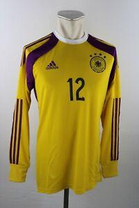 Germany Jersey Gk 2014 Size 7 M-L DFB adidas #12 Jersey Adizero Ls Germany