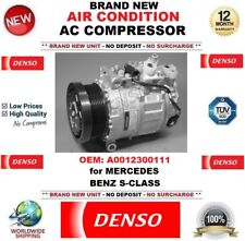 NEW DENSO AIR CONDITION AC COMPRESSOR OEM: A0012300111 for MERCEDES BENZ S CLASS