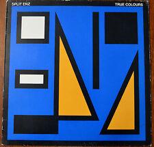 Split Enz True Colours LP