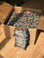 36x Pokemon XY Breakpoint Booster Packs Sealed & Unweighed.