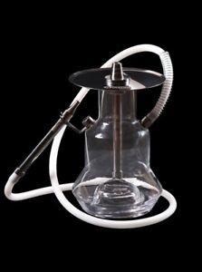 Oduman ORIGINAL Shisha N4 - Clear Hookah Wasserpfeife Edelstahl
