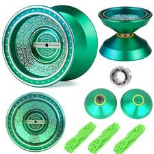 Beboo YoYo Ball Green Unresponsive Yoyos - Pro YoYo Toy - Metal Alloy Aluminum P