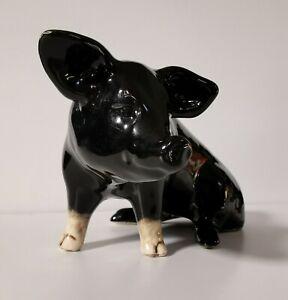 Bovey Pottery Devon Black Pig