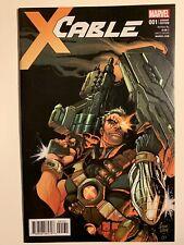 Cable #1 1:50 Adam Kubert Variant Marvel 2017 X-Men Deadpool NM