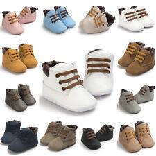 Newborn Baby Boys Girls Soft Sole Crib Shoes Anti-slip Sneakers Warm Boots 0-18M