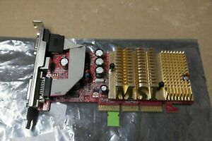 MS Nvidia Geforce 6200   128MB AGP / VGA / DVI AGP Graphics video Card