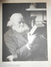Old Edwardian? Russell Portrait Photograph of a Bearded Gentleman Reading c1910,
