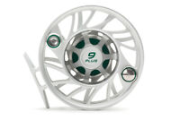 Hatch Gen 2 Finatic Fly Reel - Size 9 Plus - Clear/Green - Mid Arbor - Closeout
