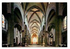 Florence Italy Postcard Basilica Santa Maria Novella Interior Unposted