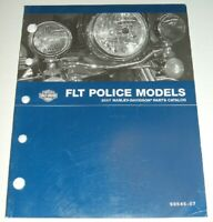 2007 HARLEY FLT FLH POLICE PARTS CATALOG MANUAL BOOK FLHP FLHTP FLHPE