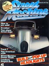 STREET MACHINE JANUARY 1983-BERPOP HEADLIGHTS-76 CADILLAC LIMO-CHOPPED POP-V8MAG
