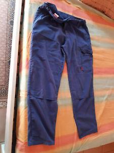 vetement bleu de travail LAFONT PANTALON 52/54 vintage